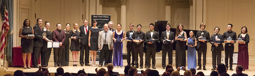 2019 New York Piano Festival and Competition